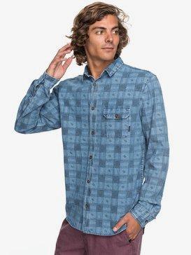 Full Rail Indigo - Long Sleeve Shirt for Men  EQYWT03651