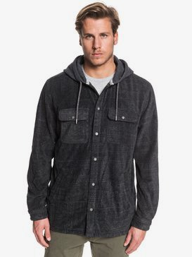 Surf Days - Hooded Long Sleeve Polar Fleece Shirt for Men  EQYWT03850