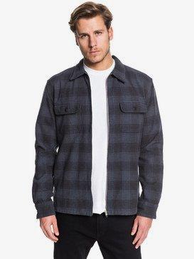 Bitter Springs - Long Sleeve Zip-Up Overshirt for Men  EQYWT03873