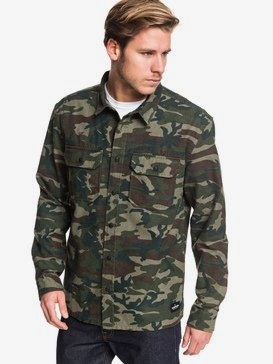 Kata Tjuta - Long Sleeve Overshirt for Men  EQYWT03878
