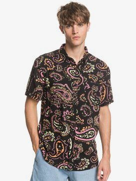 Fluid Geo - Short Sleeve Shirt for Men  EQYWT03955