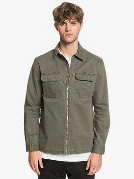 The Over Zip - Long Sleeve Zip-Up Overshirt  EQYWT03972