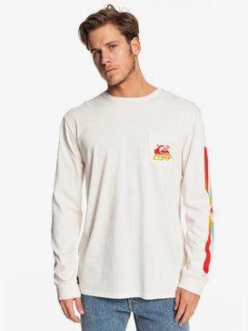 St Comp Factory - Long Sleeve Pocket T-Shirt for Men  EQYZT05342