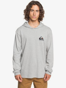 Square Me Up - Long Sleeve Hooded T-Shirt for Men  EQYZT06088