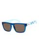 3 Small Fry - Gafas de Sol para Chicos 8-16 Azul EQBEY03006 Quiksilver