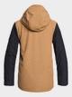 2 Ridge - Snow Jacket for Boys 8-16 Brown EQBTJ03091 Quiksilver
