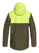 1 Arrow Wood - Snow Jacket for Men Brown EQYTJ03191 Quiksilver