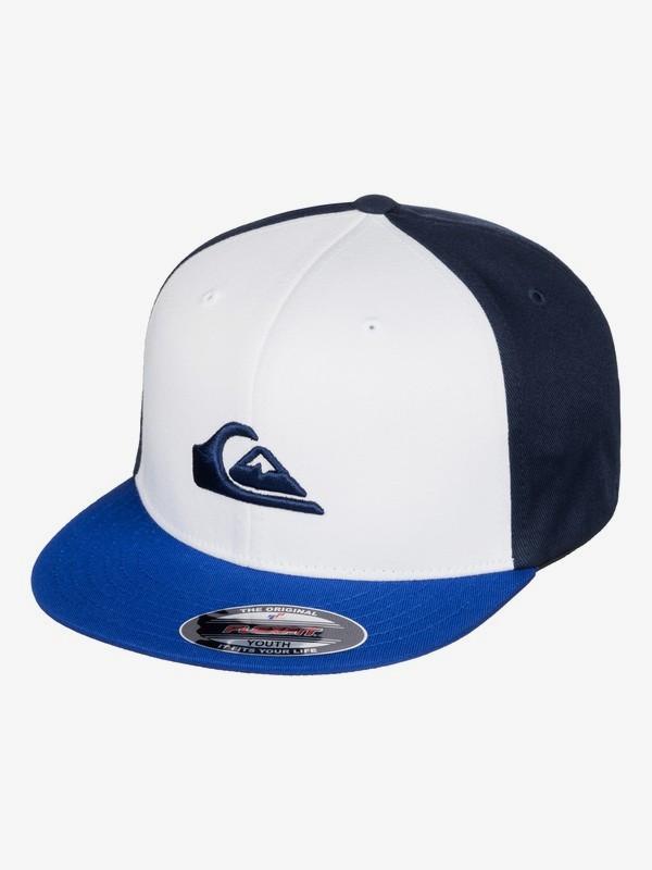 0 Бейсболка Flexfit Stuckles Синий AQBHA03218 Quiksilver