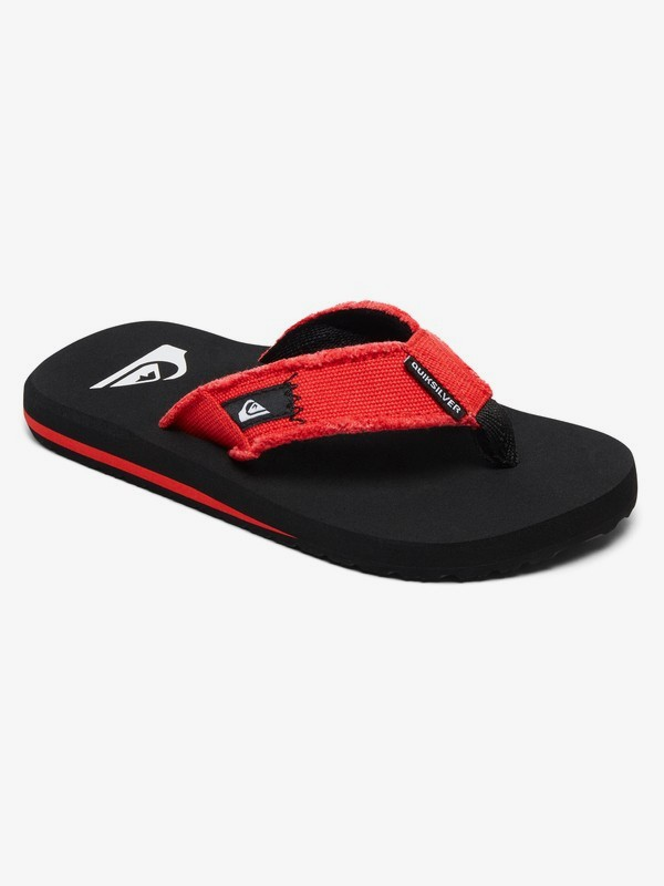 0 Monkey Abyss - Sandals for Boys Black AQBL100010 Quiksilver