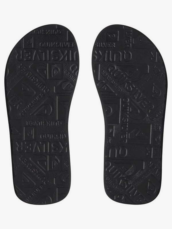 Grey Black Quiksilver Boy/'s Basis Sandal New Black