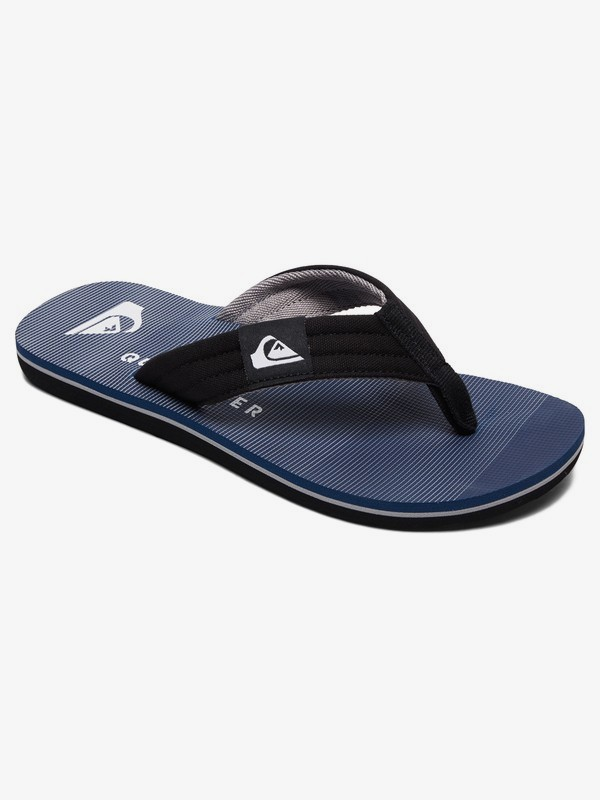 0 Molokai Layback - Sandals for Boys 8-16 Black AQBL100359 Quiksilver