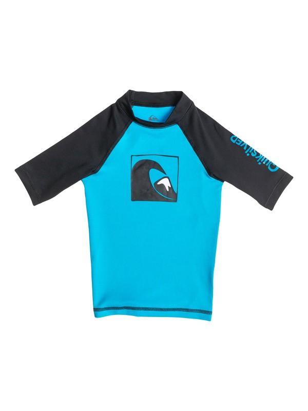 0 Main Peak - Rash vest a maniche corte  AQKWR03001 Quiksilver