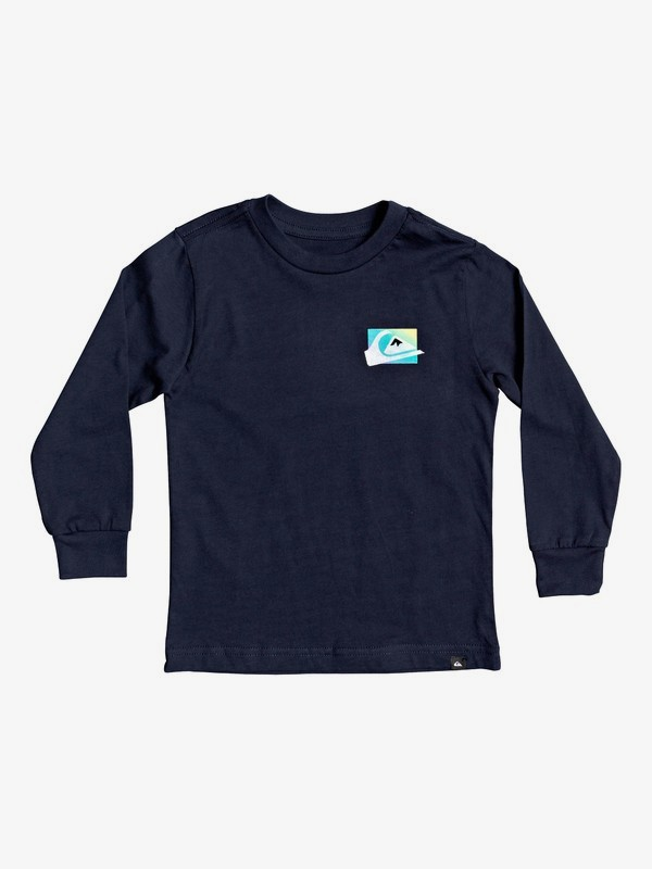 Neon Colors - Long Sleeve T-Shirt for Boys 2-7  AQKZT03603