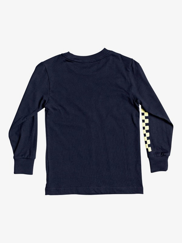 Golden Embers - Long Sleeve T-Shirt for Boys 2-7  AQKZT03604