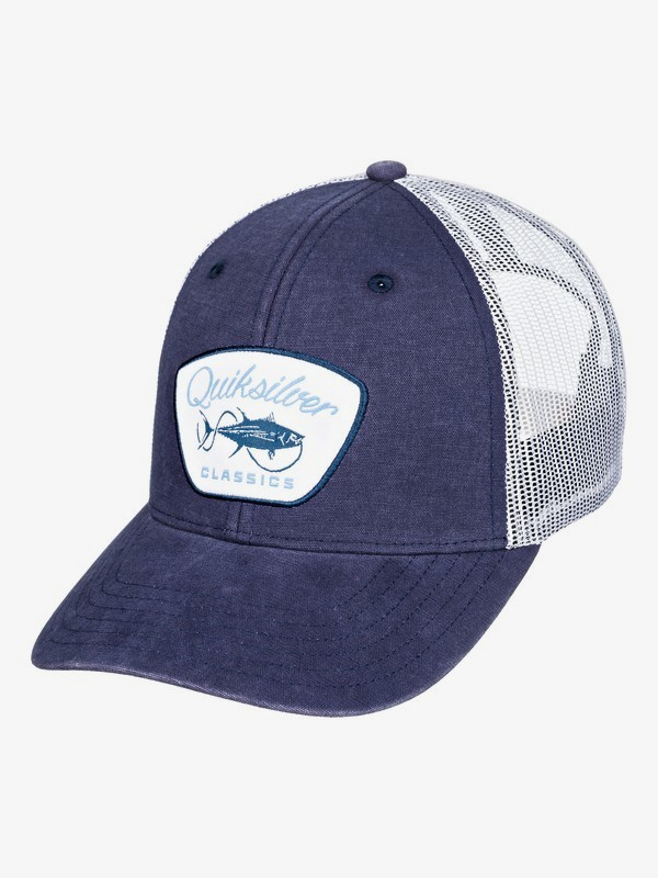 Waterman Fish Monger - Trucker Cap  AQMHA03119