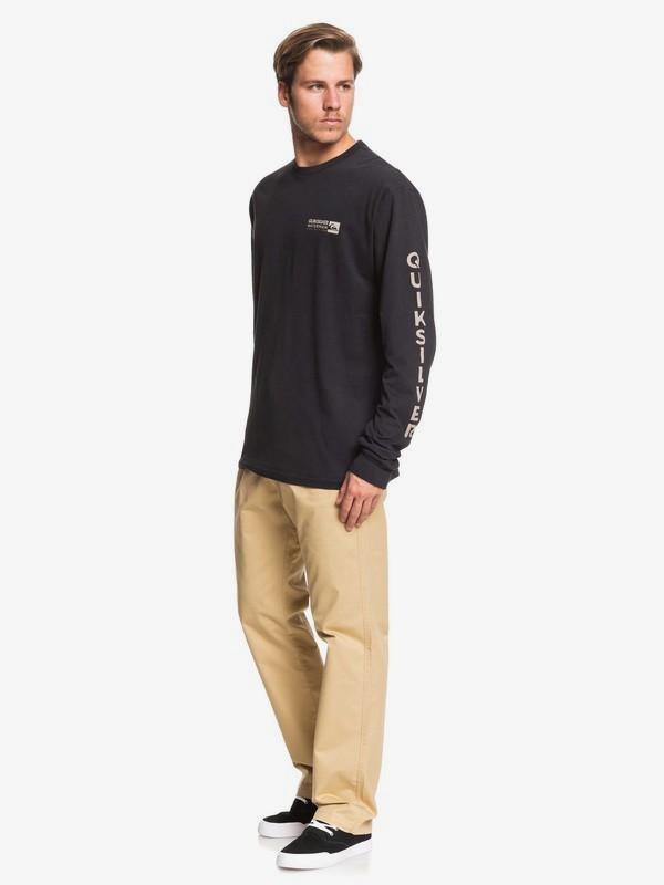 Waterman Staple Sandwich - Long Sleeve T-Shirt for Men  AQMZT03392