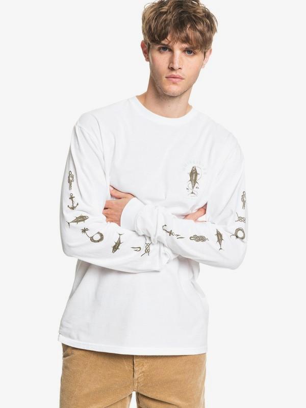 Waterman Sea Grove - Long Sleeve T-Shirt for Men  AQMZT03439