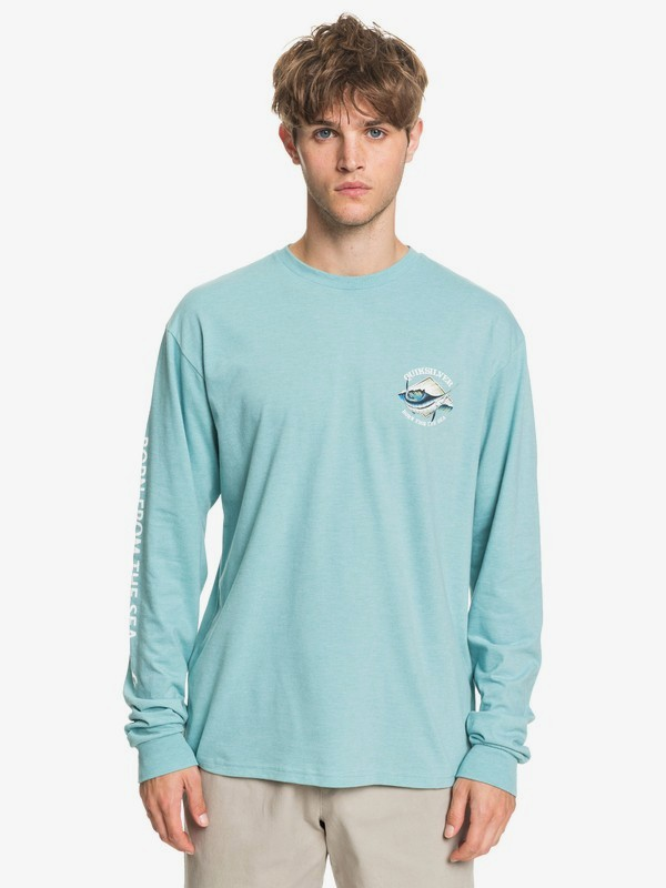 Waterman Oceans Embrace - Long Sleeve T-Shirt for Men  AQMZT03440