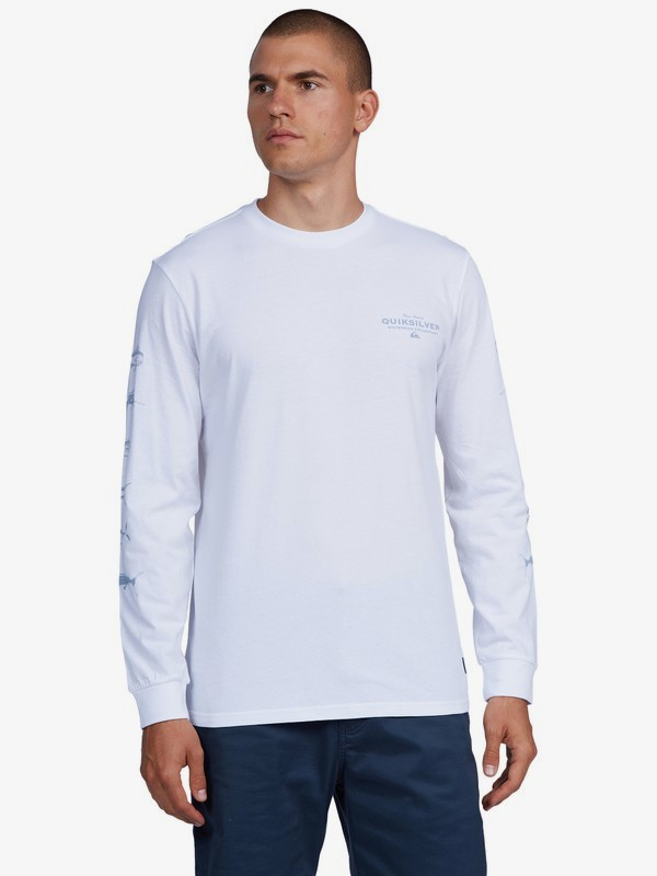 Empty Shoreline - Long Sleeve T-Shirt for Men  AQMZT03477
