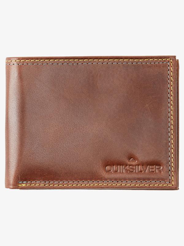 Mini Macbro - Bi-Fold Leather Wallet  AQYAA03220