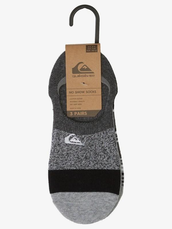 Super No Show Heather - Liner Socks for Men  AQYAA03256