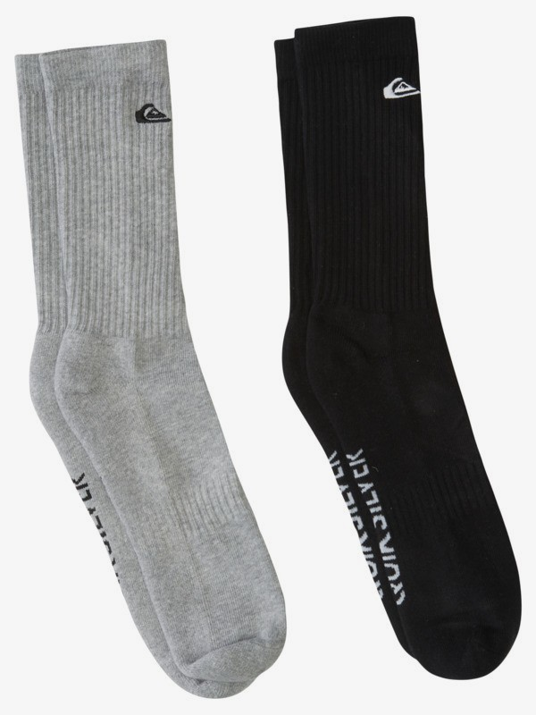 Solid - Crew Socks for Men  AQYAA03257