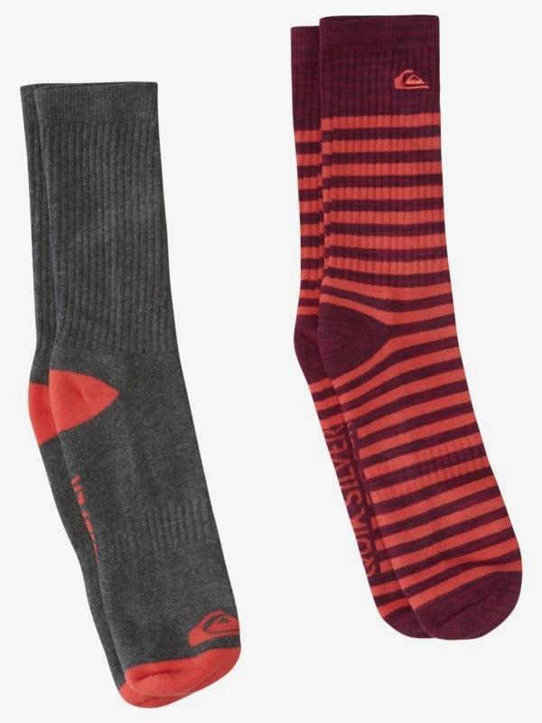 Stripe - Crew Socks for Men  AQYAA03258