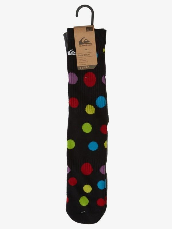 Polka Dot - Crew Socks for Men  AQYAA03263