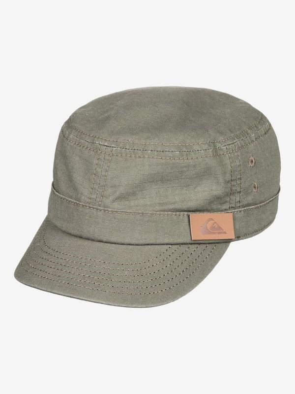 0 Renegade - Military Cap for Men Brown AQYHA03575 Quiksilver