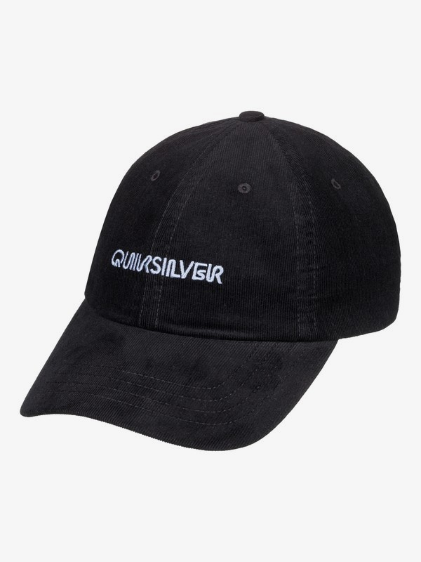 0 Labeled - Dad Cap for Men Black AQYHA04322 Quiksilver