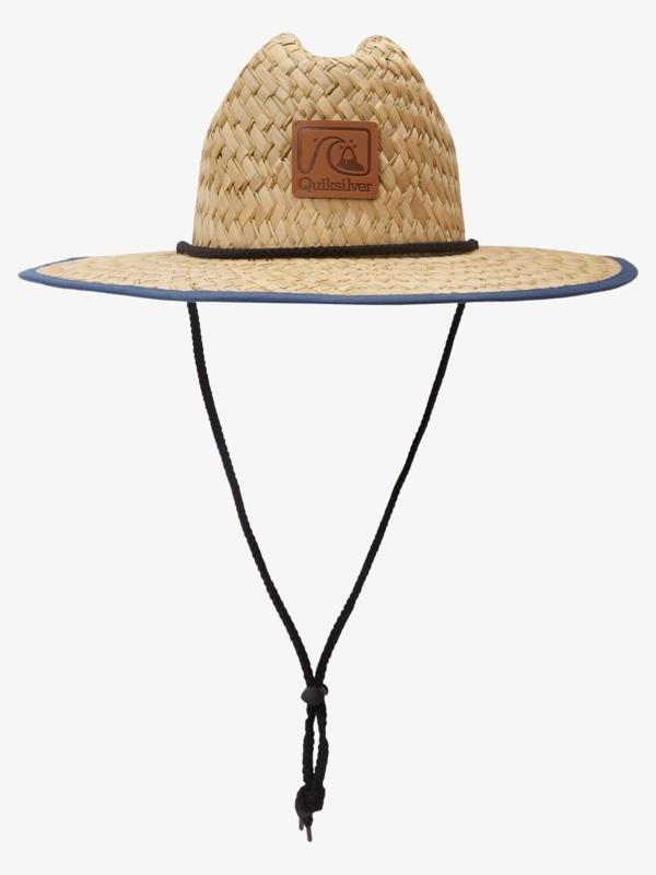 E Outsider Americano - Straw Lifeguard Hat for Men  AQYHA04977
