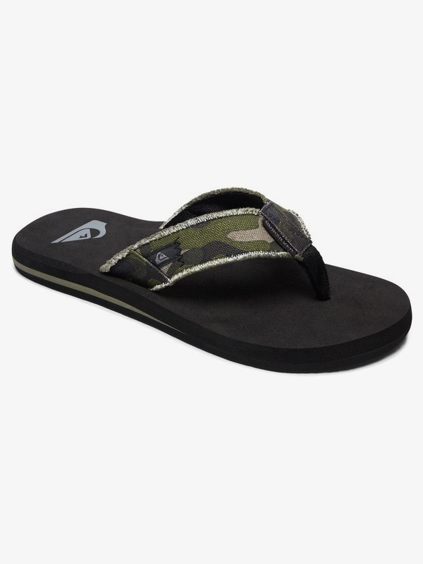 0 Monkey Abyss - Sandals for Men Green AQYL100047 Quiksilver