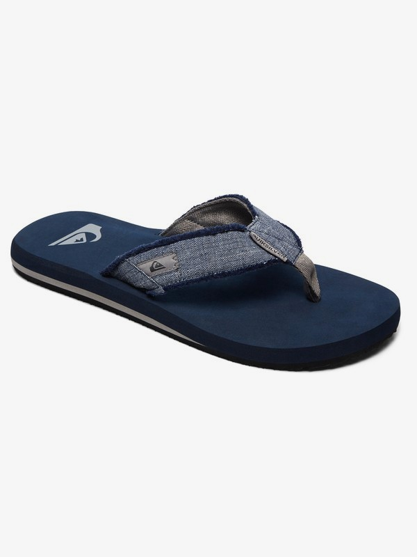 0 Monkey Abyss - Sandals for Men Grey AQYL100047 Quiksilver