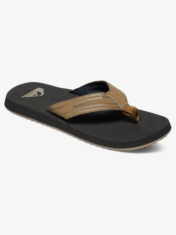 0 Monkey Wrench - Sandals for Men Beige AQYL100048 Quiksilver