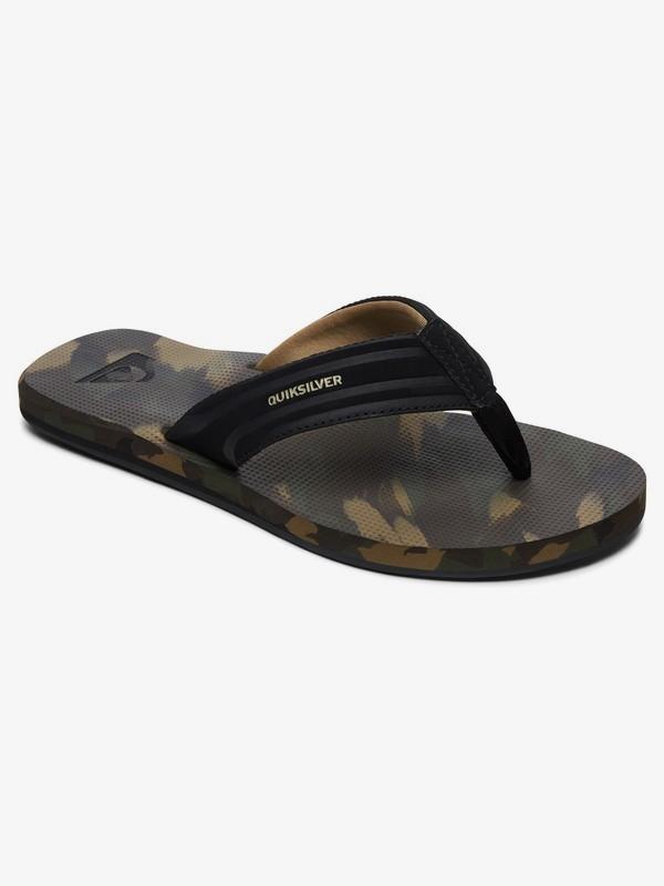 0 Island Oasis - Sandalias para Hombre Multicolor AQYL100401 Quiksilver