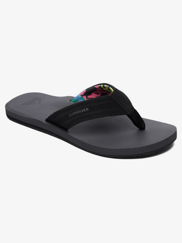 0 Island Oasis - Sandals for Men Black AQYL100401 Quiksilver