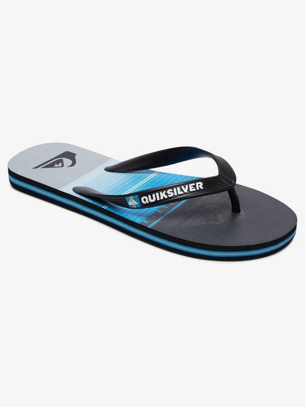0 Molokai Highline Slab - Flip-Flops for Men Black AQYL100568 Quiksilver