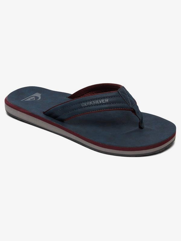 0 Carver Nubuck - Sandals for Men Blue AQYL100623 Quiksilver