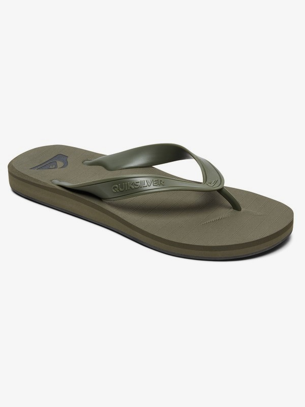 0 Carver Deluxe - Flip-Flops for Men Green AQYL100678 Quiksilver