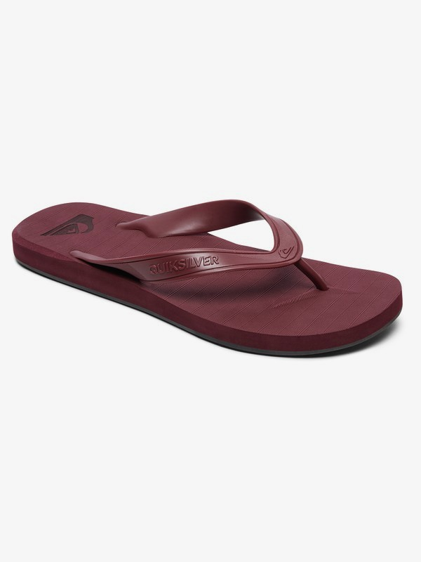 0 Carver Deluxe - Flip-Flops for Men Red AQYL100678 Quiksilver