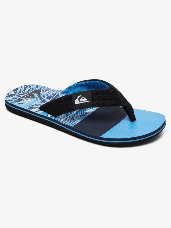 0 Molokai Layback - Sandals for Men Black AQYL100784 Quiksilver