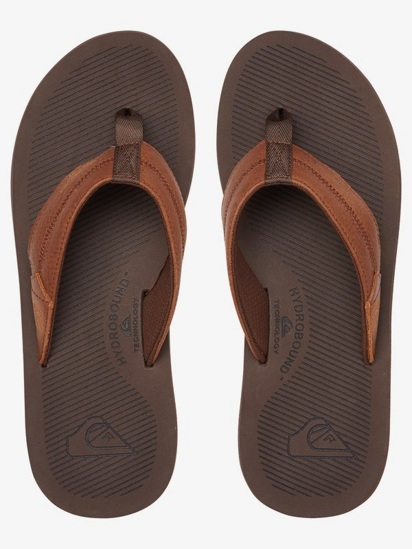 Coastal Oasis Deluxe - Leather Sandals  AQYL100944