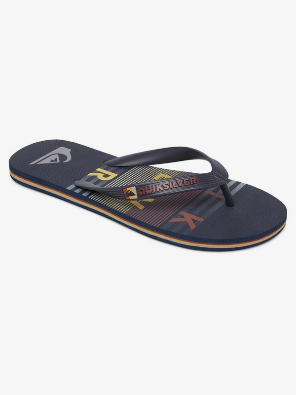 Molokai Word Block - Flip-Flops for Men AQYL101129
