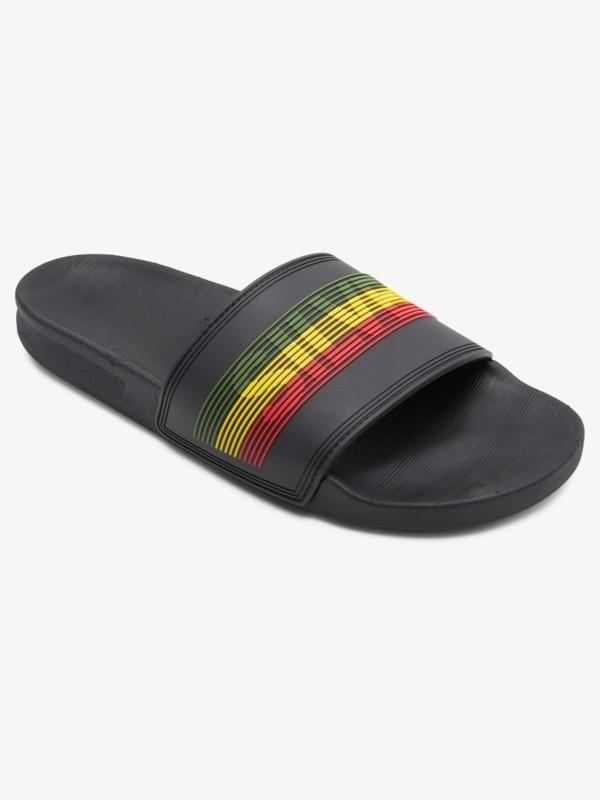 Rivi Wordmark Slide - Slider Sandals for Men  AQYL101221