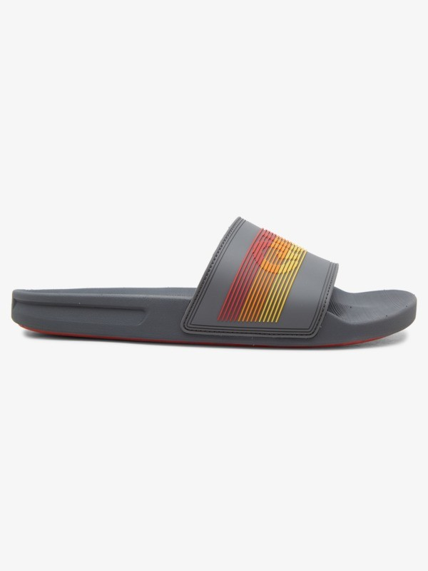 Rivi Wordmark Slide - Slider Sandals for Men  AQYL101221