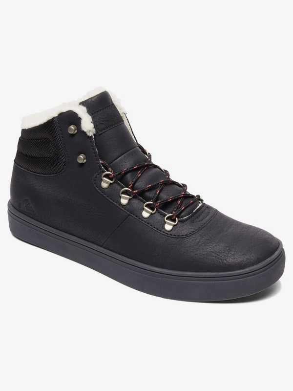 0 Jax - Water Resistant High-Top Shoes Black AQYS100022 Quiksilver