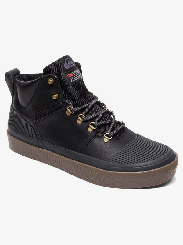 0 Grebe - Water-Resistant High-Top Shoes for Men  AQYS300076 Quiksilver