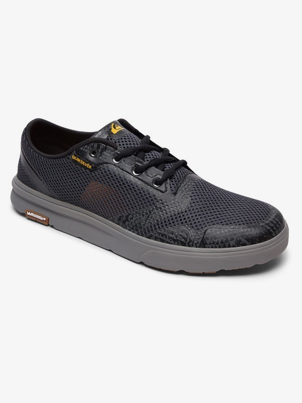 0 Amphibian Plus - Shoes for Men Grey AQYS700027 Quiksilver