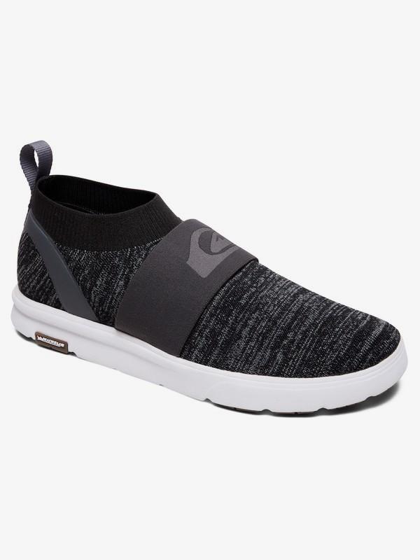 0 Amphibian Plus Slip-On - Amphibian Slip-On Shoes for Men Grey AQYS700047 Quiksilver