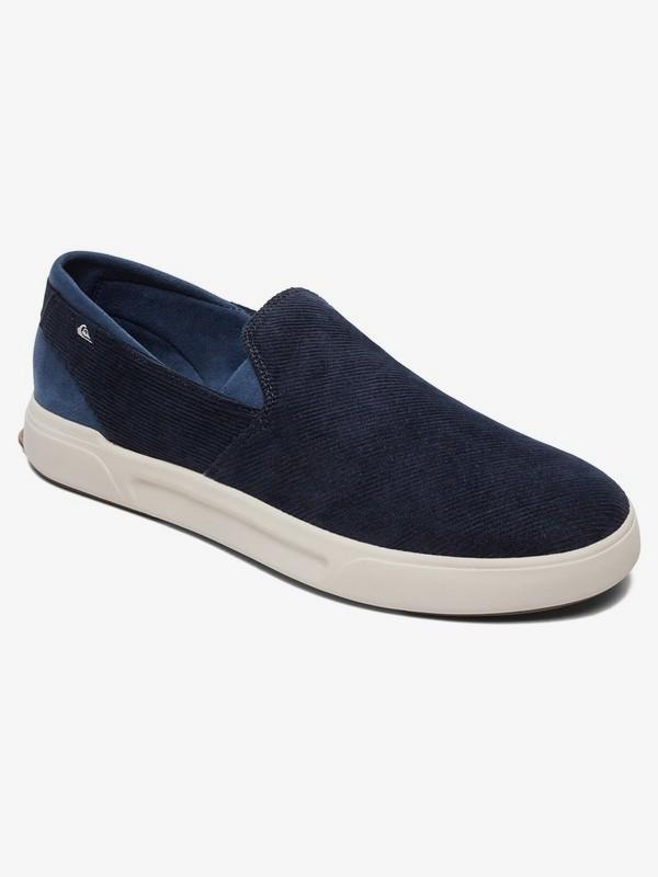 0 Surf Check Premium - Slip-On Shoes for Men Blue AQYS700054 Quiksilver